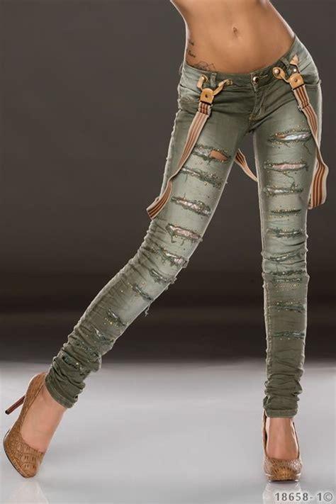 zerrissene schwarz zerrissene damen schwarz h m sch 246 ne jeansmodelle