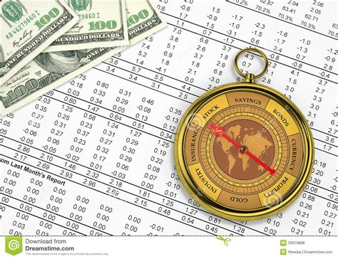 Bausparvertrag Finanz Kompass by Financial Compass Stock Photo Image Of Money Opportunity