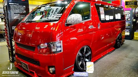 Toyota Hiace 4k Wallpapers by 4k Kuhl Racing Toyota Hiace 200 Modified 2017 クールレーシング