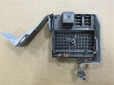 chevrolet silverado fuse relay box   ebay