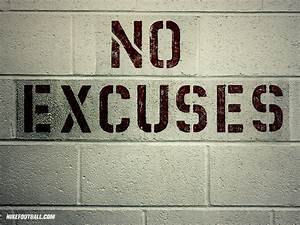 NFL Nike Football Motivational No Excuses 1024x768 DESKTOP ...