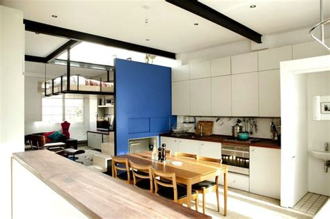 kitchen design studio incre 237 ble departamento con cama colgante en londres 1369