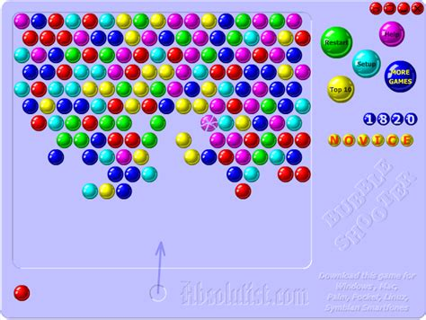 The Evolution Of Bubble Shooter Games