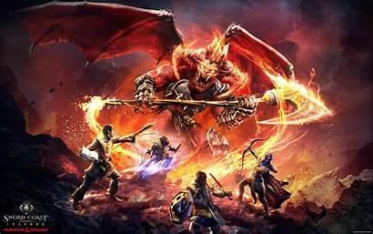 Dnd Dragons Dungeons Wallpapers Sword Coast Legends