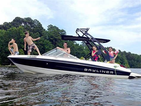 Bayliner Wakeboard Boat by Install A Wakeboard Tower On Your Bayliner Boat