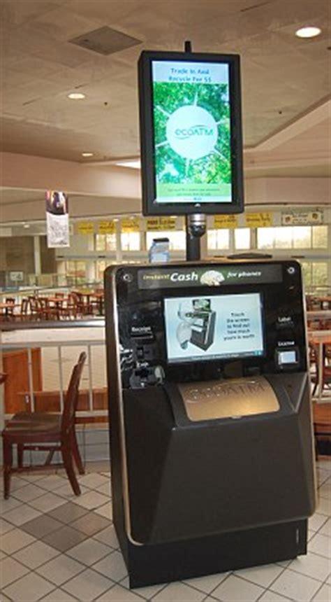 ecoatm phone prices phone recycling machine lets you drop in mobiles and