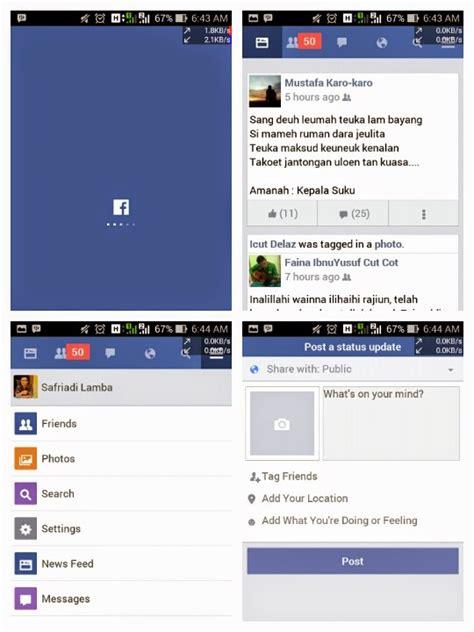 facebook lite aplikasi fb android  android jadul blog safriadi lamba