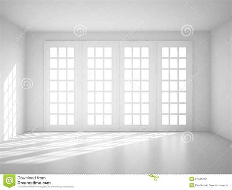 big white room stock photography image