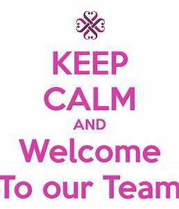 The gallery for --> Welcome To Our Team Sign