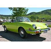 For Sale 1971 Fiat 850 Sport Spider By Bertone  Classic