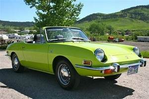 For Sale 1971 Fiat 850 Sport Spider By Bertone
