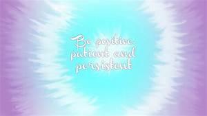 Think Positive Quotes Desktop. QuotesGram