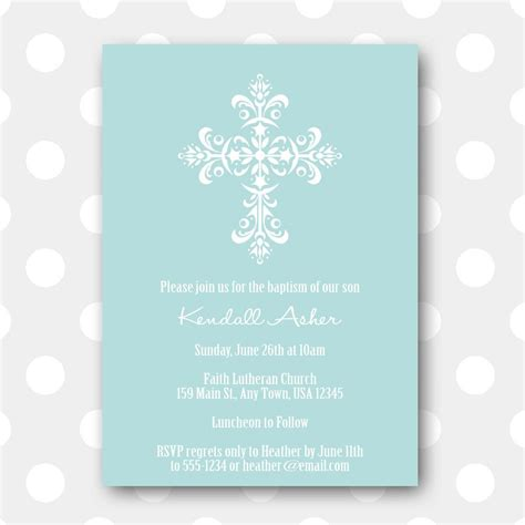 invitations to print free free christening invitation templates photo life style