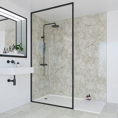 multipanel classic antique marble bathroom wall panel