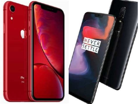 apple iphone xr vs oneplus 6 how cheapest new iphone compares to the most popular premium