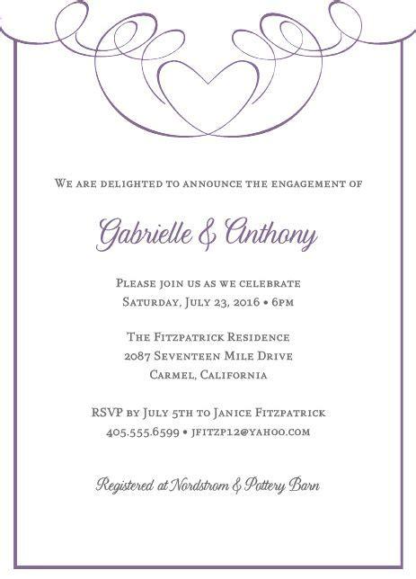 create  engagement party invitation wording ideas