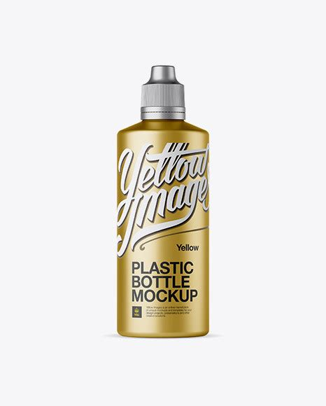 Change the background and everything you need to customize for your own. deSymbol — Metallic Plastic Bottle Mockup Download Metallic...