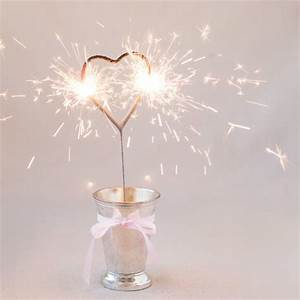 heart sparklers wedding favors heart shaped sparklers With sparklers for wedding favors