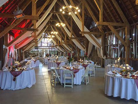 northern michigan barn wedding event reception