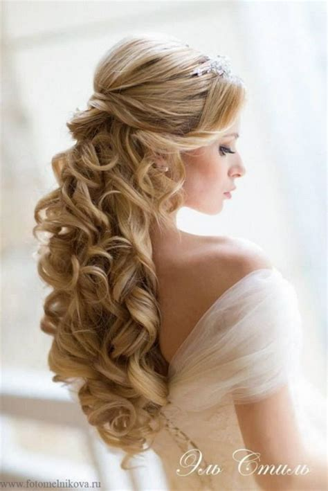 wedding hairstyles curly hair half up half up curly wedding hairstyles