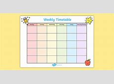 Weekly Timetable weekly, time table, time management, class