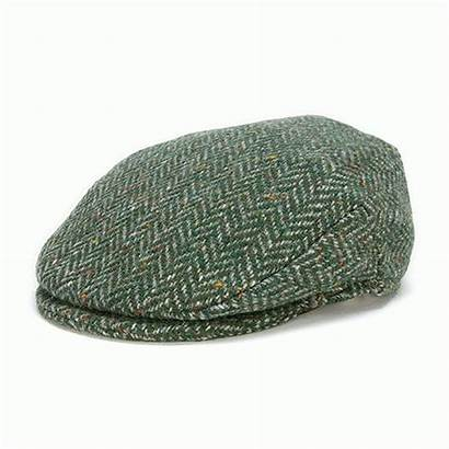 Cap Herringbone Wool Tweed Hanna