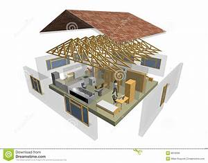 3d House Royalty Free Stock Image