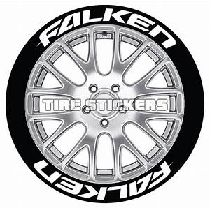 falken tire lettering tire stickers With 205 55r16 white letter tires