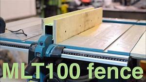 Improving Makita Table Saw - Rock Solid Fence