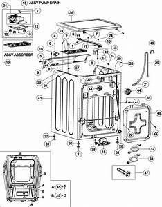 Cabinet Diagram  U0026 Parts List For Model Mah8700aww Maytag
