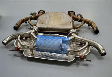 aston martin db exhaust system db titanium exhaust