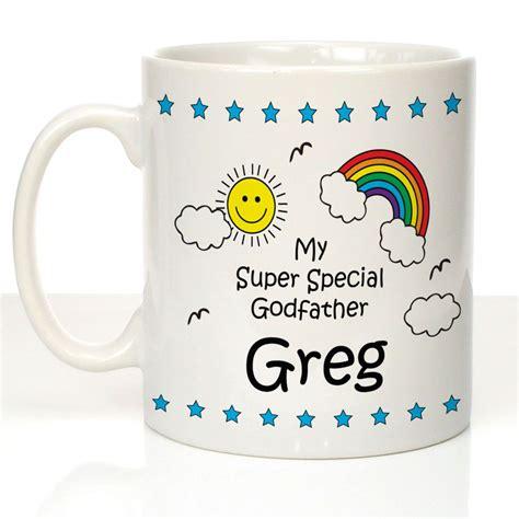 personalised godfather gift godfather christmas gift super