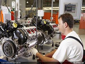 Audi Hungaria  Engine Production At Record Levels