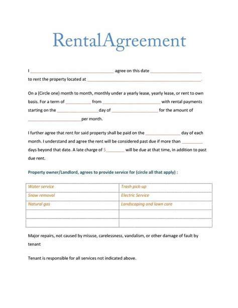 elegant weekly room rental agreement zo