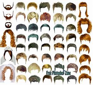 Hair Styles Psd Template