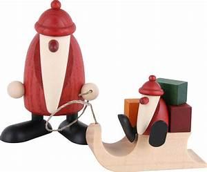 Köhler Kunsthandwerk Shop : santa claus with sleigh and child 9 cm by bj rn k hler kunsthandwerk ~ Sanjose-hotels-ca.com Haus und Dekorationen