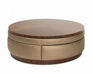 aico round swivel cocktail table cloche ai 10204 32 With 32 inch round coffee table
