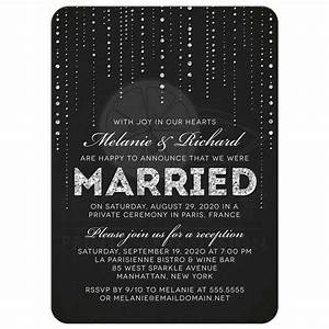 best 25 reception only invitations ideas on pinterest With wedding invitations for party only