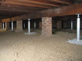 crawl space joist repair by southeast central and