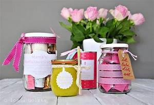 Geschenke Für Muttertag : 4 geschenke zum muttertag im glas und in der dose inkl ~ A.2002-acura-tl-radio.info Haus und Dekorationen