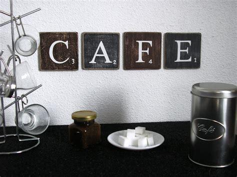 lettre decorative cuisine lettres décoratives cafe pour une décoration murale de