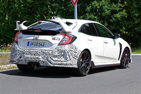 Honda Civic Type R Picture by New Honda Civic Type R Facelift Spied Pictures Auto