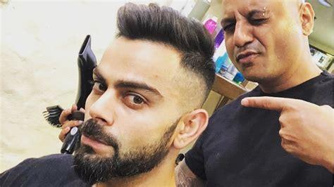 virat kohli reveals  hairdo   ipl
