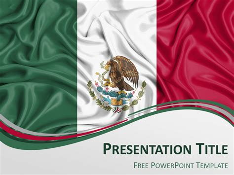 mexican themed powerpoint template mexico flag powerpoint template presentationgo
