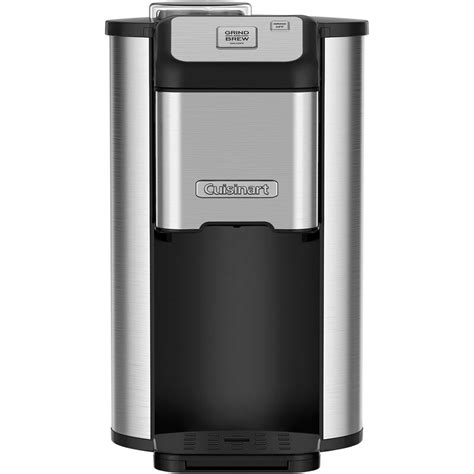 You can also find larger containers, which are great for serving a crowd or storing brew for use throughout the week. Cuisinart Single Serve Grind and Brew™ Coffee Maker & Reviews | Wayfair