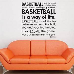 basketball michael jordan quote subway art words vinyl With vinyl wall lettering michaels