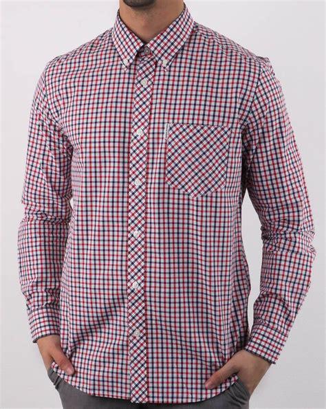 Ben Shirt ben sherman check shirt navy 80s casual classics