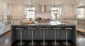 u shaped kitchen island u shaped two tone kitchen design ideas
