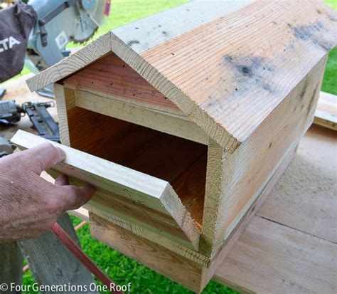 build  mailbox  woodworking