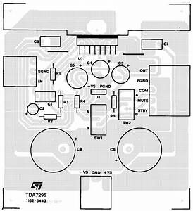Various Diagram  80w Subwoofer Amplifier Tda7295